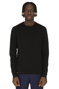 Long-sleeved crew-neck sweater, Crew necks sweaters Moncler man