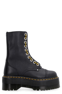 Sinclair Hi Max pebbled leather boots, Ankle Boots Dr. Martens woman