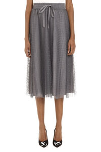 Pleated tulle Point d'esprit skirt, Pleated skirts Red Valentino woman