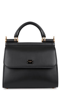 Sicily 58 leather handbag, Top handle Dolce & Gabbana woman