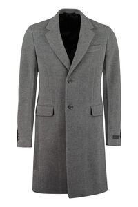 Wool coat, Overcoats Prada man