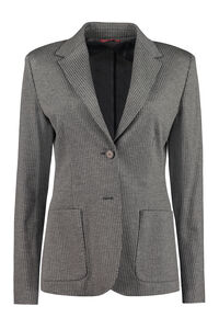 Fosca single-breasted two-button blazer, Blazers Max Mara Studio woman