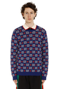 GG jacquard sweater, Crew necks sweaters Gucci man