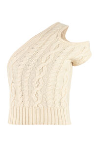 Knitted top, Calm, cool and collected in earth tones Telfar woman