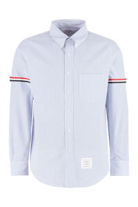 Striped cotton shirt, Striped Shirts Thom Browne man