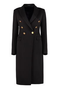 Double-breasted cashmere coat, Double Breasted 0205 Tagliatore woman
