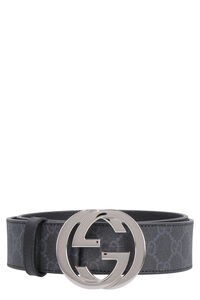 GG supreme fabric belt, Belts Gucci man