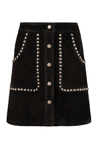 Artemide suede mini-skirt, Leather skirts Golden Goose woman