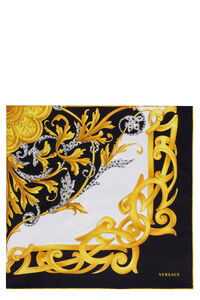 Printed silk scarf, Scarves Versace woman