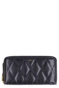 GV3 leather zip around wallet, Wallets Givenchy woman