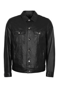 Lambskin jacket, Leather jackets Dolce & Gabbana man