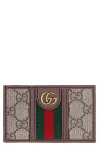 Ophidia GG Supreme fabric card holder, Wallets Gucci man