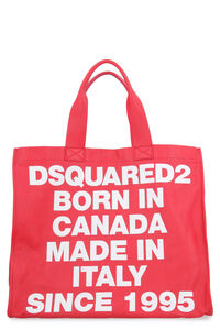 Smooth leather tote bag, Tote bags Dsquared2 woman