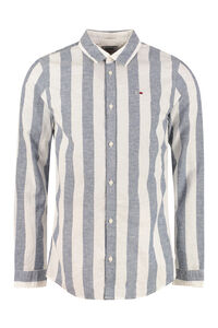 Striped motif shirt, Striped Shirts Tommy Jeans man