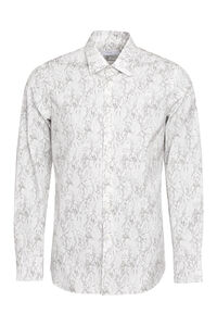Printed cotton shirt, Printed Shirts Prada man