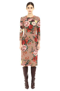 Floral sheath dress, Printed dresses Dolce & Gabbana woman