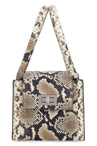 Sabrina python print leather handbag, Top handle BY FAR woman