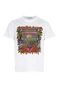 Short-sleeved printed cotton T-shirt, Short sleeve t-shirts Neil Barrett man