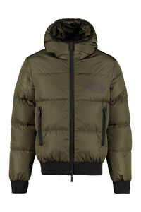 Hooded short down jacket, Down jackets Dsquared2 man