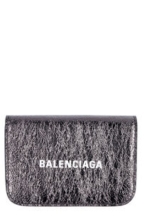 Micro leather wallet, Wallets Balenciaga woman