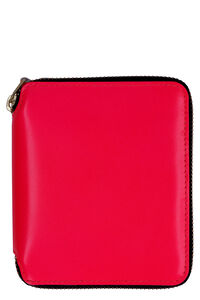 Leather zip around wallet, Wallets Comme des Garçons Wallet woman