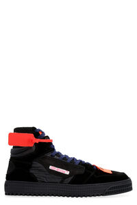 Off Court suede sneakers, High Top Sneakers Off-White man