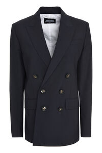 Double-breast wool blazer, Blazers Dsquared2 woman
