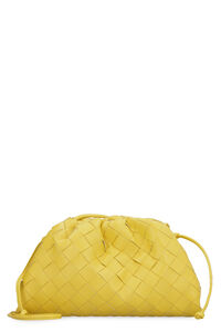 The Mini Pouch leather clutch, Clutch Bottega Veneta woman