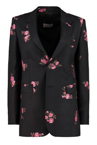 Wool single-breasted blazer, Blazers Red Valentino woman