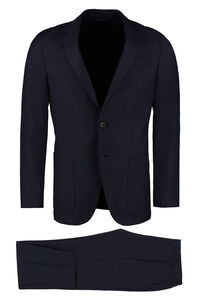 Virgin wool two piece suit, Suits BOSS man