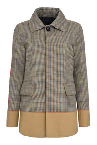 Checked wool jacket, Casual Jackets Dsquared2 woman