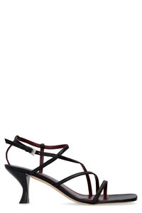 Gita leather sandals, Mid Heels sandals STAUD woman