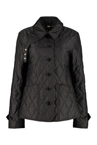 Techno fabric padded jacket, Raincoats And Windbreaker Burberry woman