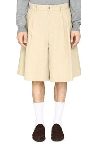 Cotton and linen bermuda-shorts, Shorts Maison Margiela man