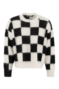 Mohair-wool sweater, Crew necks sweaters Palm Angels man
