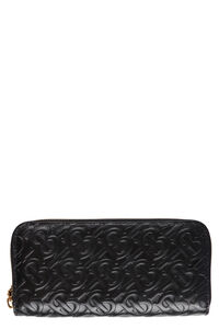 Ellerby all-over logo leather wallet, Wallets Burberry woman
