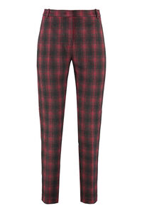 Stretch cigarette trousers, Trousers suits Pinko woman