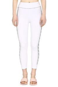 Contrasting side stripes leggings, Leggings Fendi woman