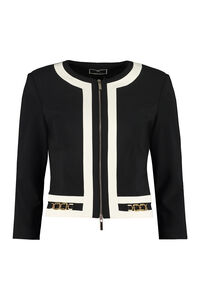 Full zip jacket, Casual Jackets Elisabetta Franchi woman