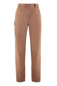 Bill linen trousers, Casual trousers Nanushka man