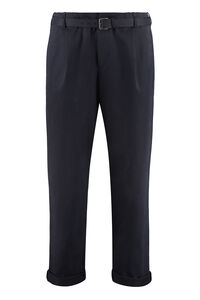 Cotton cropped trousers, Casual trousers Neil Barrett man
