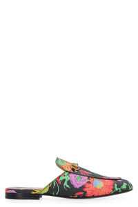 Leather slippers with horsebit detail, Slippers Gucci woman