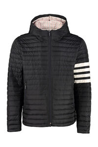 Full-zip hooded down jacket, Down jackets Thom Browne man