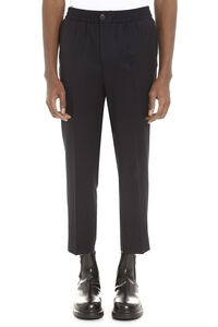 Wool cropped trousers, Casual trousers AMI man