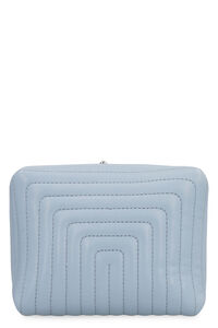 Goji quilted leather clutch, Clutch Jil Sander woman
