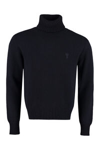 Cashmere turtleneck sweater, Turtleneck AMI PARIS man