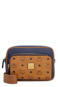 Klassik shoulder bag in Visetos, Shoulderbag MCM woman