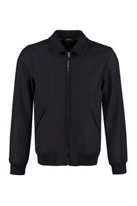 Knitted bomber jacket, Bomber jackets A.P.C. man