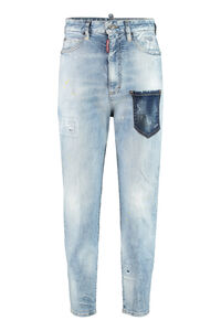 Sasoon 80's Jean jeans, Cropped Jeans Dsquared2 woman