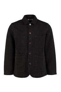 Bakers cotton twill overshirt, Denim jackets Universal Works man